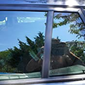 AERZETIX 5x3=15 m/ètres 75 cm Film solaire teint/é noir BLACK 25/% pour vitre fen/être auto voiture velux b/âtiment