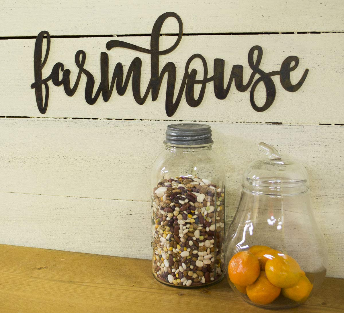 Farmhouse Metal Sign Decor Country Decoration Max Max 76% OFF 68% OFF Home