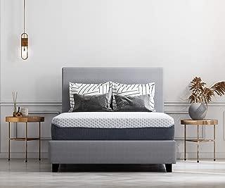 Ashley Furniture Signature Design - 12 Inch Chime Elite Mattress - Queen Size - White & Blue