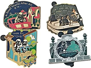 Authentic Disney Star Wars Booster Pack 4-Pin Set