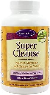 Nature's Secret Super Cleanse Tabs, 200 ct