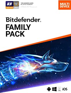 Bitdefender Family Pack - 15 Devices | 1 year Subscription | PC/Mac | Activation Code by email