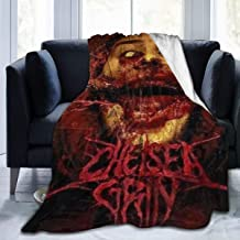 JacobKThompson Chelsea Grin Albums Luxury Light and Comfortable Keep Warm Flannel Velvet Plush Throw Blanket,Suitable for All Seasons 50