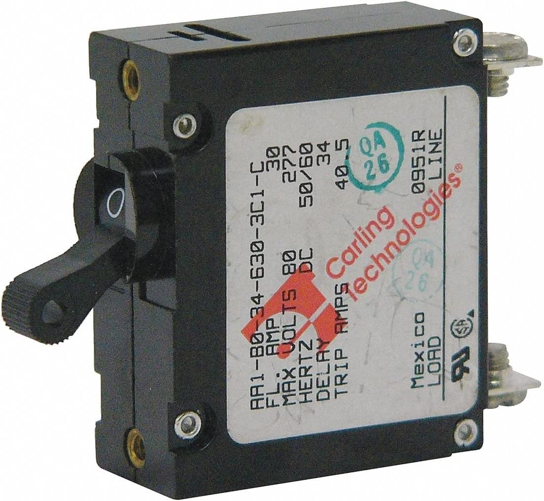 Magnetic Charlotte Mall Hydraulic Circuit Year-end gift Breaker A 277 15 Pole Series 1