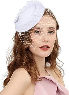 Best cheap white church hats Reviews