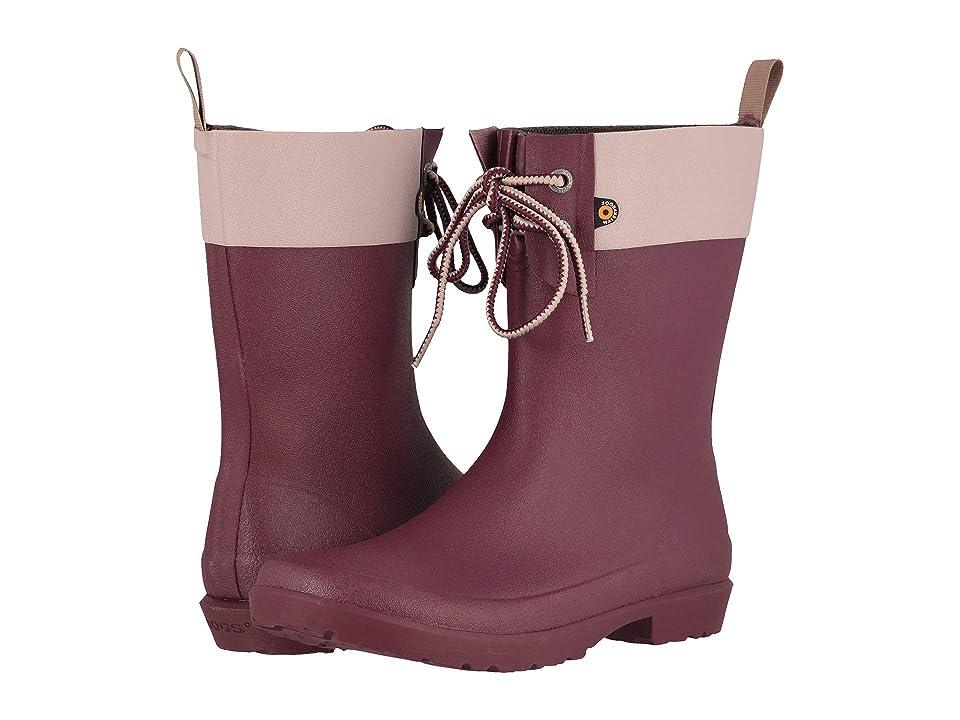 Bogs Flora 2-Eye Boot (Violet) Women