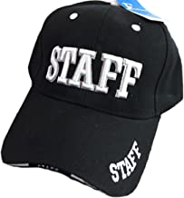 Black Duck Deals High Definition Embroidery Staff Security Police Event Service Baseball Caps