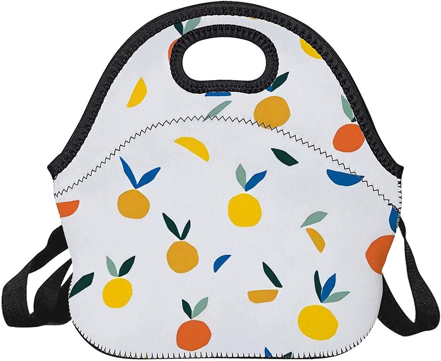 Upgraded lunch bag,Yellow Fruit depot Backgroundà outlet Vector on White