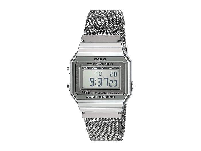 G-Shock  Casio Vintage A700WM-7AVT (Silver) Watches