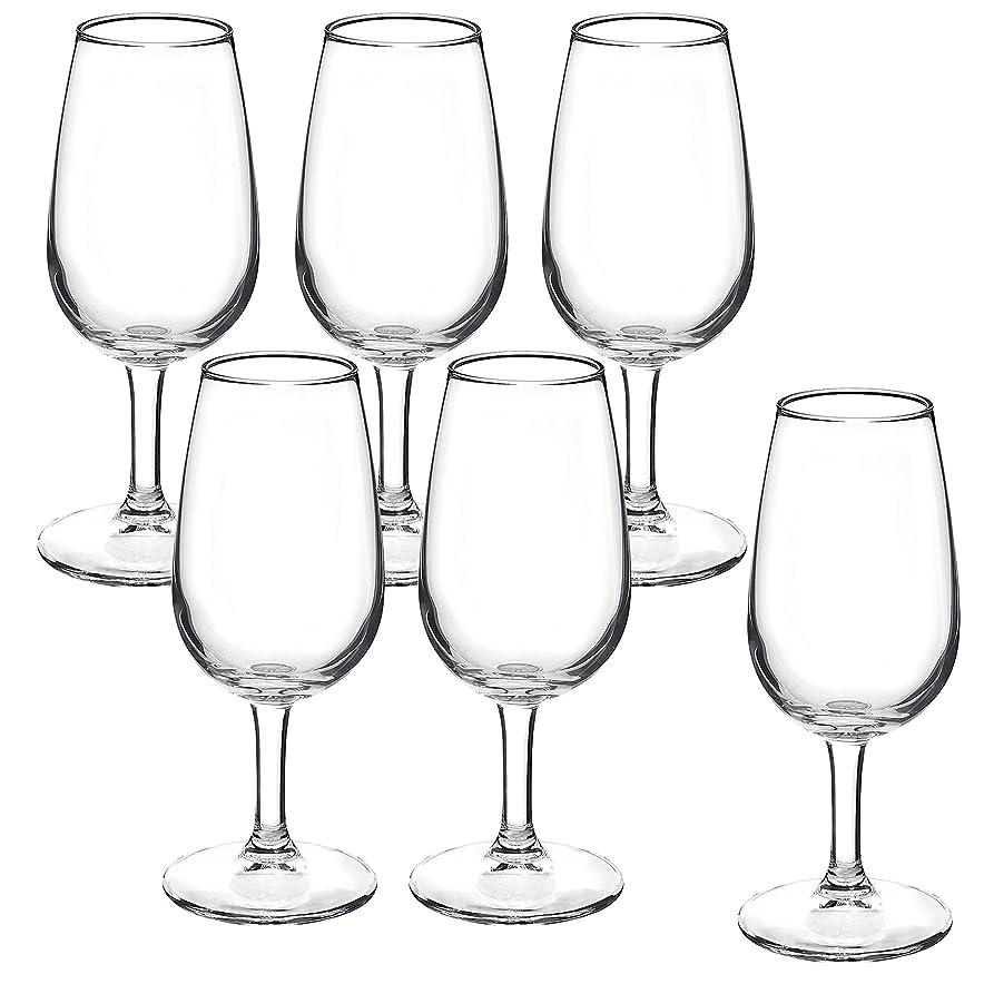 安全硬いようこそブランシェ?アソシエ ワイングラス リゼルバ テイスティング 6個セット 200ml