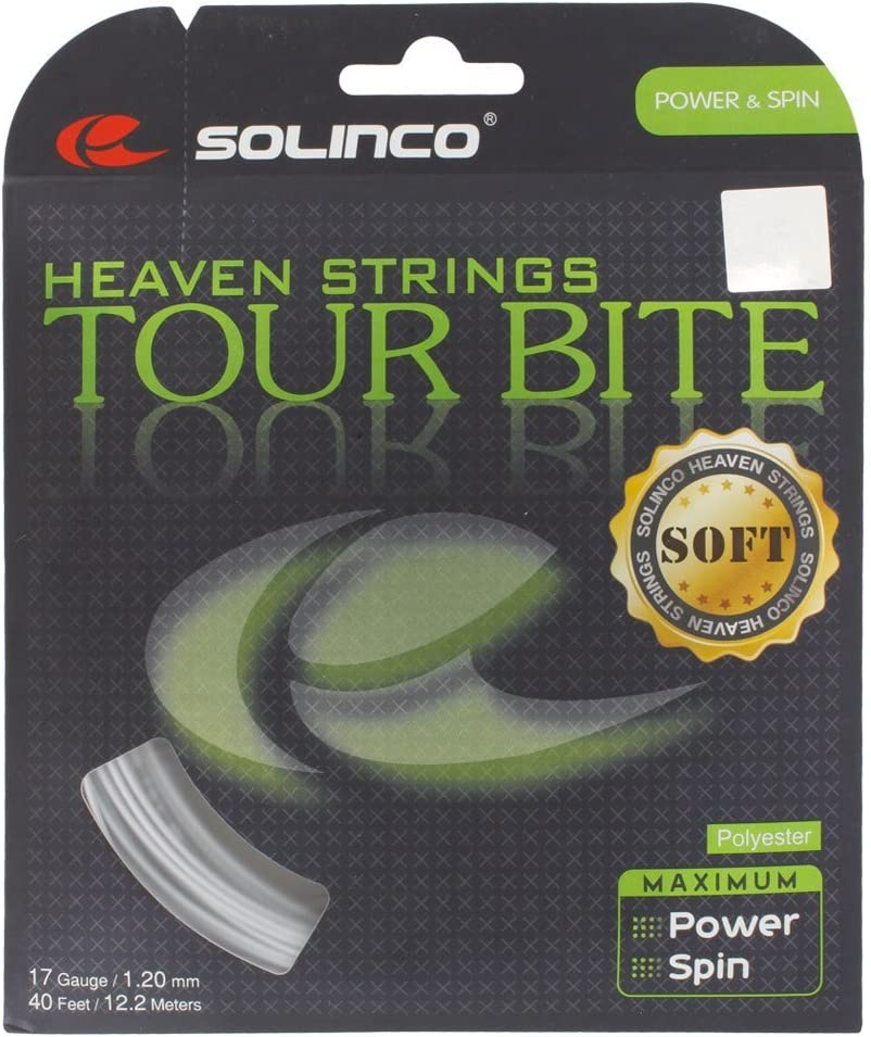 Solinco Tour Bite Rare Soft 4-Sided Poly 16 18 Gau Polyester 17 16L latest