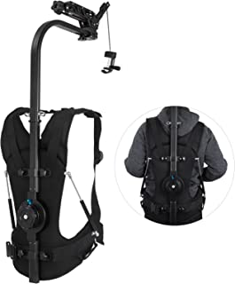 Happybuy 6.6lb - 22lb Capacity Easy Rig Video Film Camera Support System with Serene Damping Arm for 3 Axis Stabilized Handheld Gimbal Stabilization Vest Camcorders Steadycam Body Mount Stabilizer