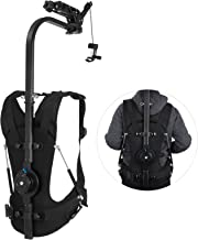 VEVOR Easy Rig Stabilizer Vest with Serene Damping Arm Camera Video Film Support System for 3 Axis Stabilized Handheld Gimbal Backpack Body Pod Stabilizer 8kg - 18kg / 17.6lb - 39.7lb Load Capacity
