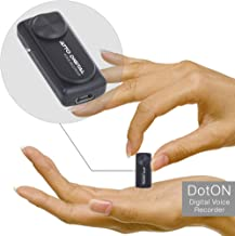 Mini Voice Recorder - Voice Activated Recordings - 20 Hours Working Time - 8GB Capacity - Easy One Button Operation