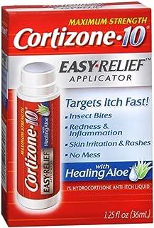 Cortizone 10 Easy Applcto Z Cortizone Easy Relief Applicator With Healing Aloe Pack of 2 Multi