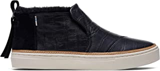 Black Croc Embossed Leather Women's Paxton Slipon 10014895
