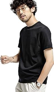 [ナノユニバース] フォーパネル クルーネック Tシャツ KYOTO メンズ