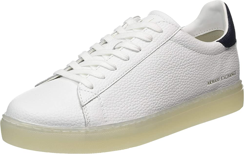 Armani exchange sneakers uomo in pelle XUX001XV248R580