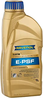RAVENOL J1B1022 Electro-Hydraulic Power Steering Fluid - E-PSF Full Synthetic (1 Liter)