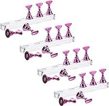 Beaupretty 20 Stks Nagel Tips Houder Magnetische Nagel Tips Houders Training Vingernagel Display Stands Voor Art Salon Diy...