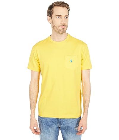 Polo Ralph Lauren Classic Fit Pocket Tee (Yellowfin) Men