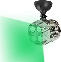 TRAIL WATCHER Deer Feeder Light Hog Hunting Green Light Spotlight PIR Motion Sensor 120°Angle IP65 Waterproof Outdoor Animal Game Feeder Cage