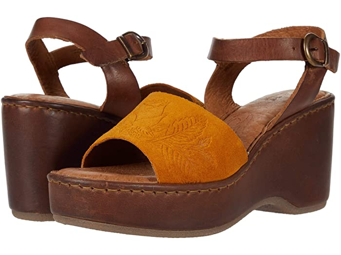 Born  Moapa (YellowithBrown) Womens Shoes