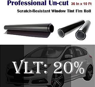 Mkbrother Uncut Roll Window Tint Film 20% VLT 36