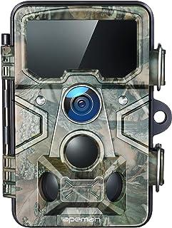 APEMAN Cámara de Caza 20MP 1080P con Tarjeta TF 16GB, Rango de detección 120 °, Lente Gran Angular de 116 °, Distancia de ...