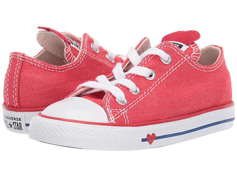 0d04b95ae789 Converse Kids Chuck Taylor All Star Denim Love Ox (Infant Toddler) (Sedona