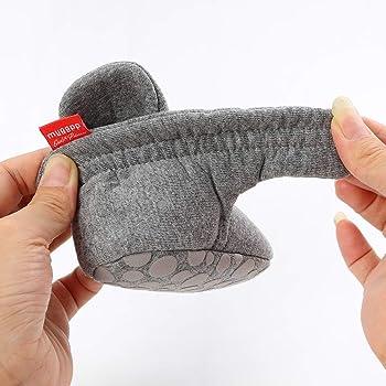 HsdsBebe Unisex Newborn Baby Cotton Booties Non-Slip Sole for Toddler Boys Girls Infant Winter Warm Fleece Cozy Socks...