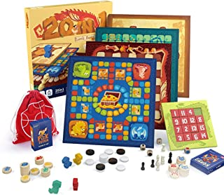 20-in-1 Combo Game with Chess Pieces,Travel Board Games Set-Checkers, Chess, Chinese Checkers,Ludo,Snakes and Ladders & More