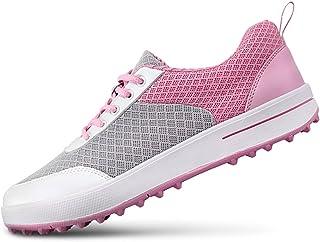 Zapatos de Golf Respirables de Spikeless de Las señoras,