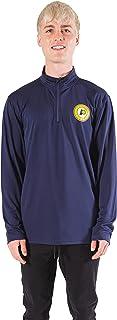 Ultra Game Men's Men's Quarter Zip Poly Knit Long Sleeve Shirt NBA Men's Quarter Zip Poly Knit Long Sleeve Shirt (pack of 1)