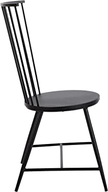 """OSP Home Furnishings Bryce 26"""" Dining Chair, Black"""