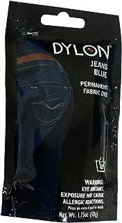 Dylon 87023 Permanent Fabric Dye, 1.75-Ounce, Jeans Blue
