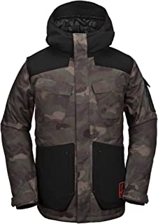 Volcom Men's VCO Inferno Insulated 2 Layer Stretch Snow Jacket