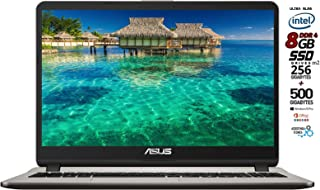 Asus vivobook notebook, ssd m.2 da 256gb + hdd 500gb, cpu intel n4000 fino a 2.6ghz, ram 8gb ddr4