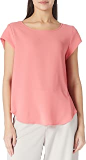ONLY Dames Onlvic S/S Solid Top Noos Wvn T-shirt