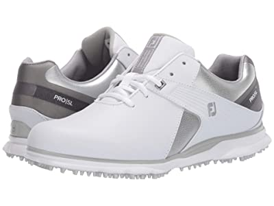 FootJoy Pro SL (White/Silver/Grey) Women