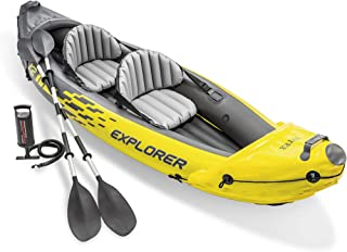 Intex 68307NP - Kayak hinchable Explorer K2 con 2 remos 312 x 91 x 51cm