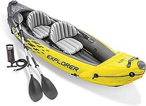 Intex 68307NP - Kayak hinchable Explorer K2 con 2 remos 312