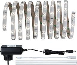 Paulmann 70511 YourLED Stripe Basisset 3 m 6000 K daglicht wit LED Strip IP44 wit helder gecoat 7,5W 810 Lumen 120 Led 23...