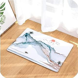 Chinese Painting Door Rug Home Decor Mats Welcome Carpet Outdoor Indoor Doormat Non Slip Floor Kitchen Carpet,D2998-22,50cmx80cm