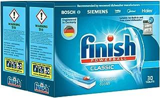 finish 洗碗机专用洗涤块489g*2(进口)(亚马逊自营商品, 由供应商配送)