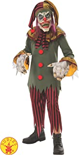 Crazy Clown Boys Costume
