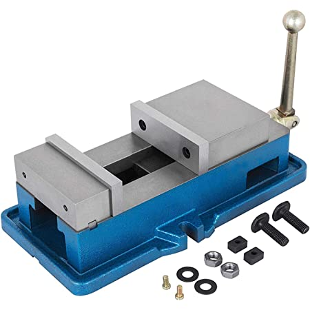 "5/"" Industry Milling Machine Locking Vice Drilling Bench Precision w// Swivel Base"