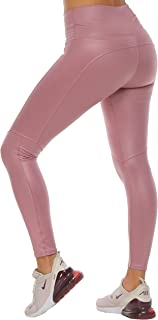 Sportswear Many Colors Faux Leather of Crossfit Leggings Women Colombian Yoga Pants Compression Tights