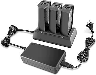 Rantow Mutil Battery Charger Hub for Parrot Bebop 2 / Bebop 2 FPV / Bebop 2 Adventurer - Charge 3 Batteries at The Same Time