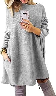 Dearlovers Women's Oversized Loose Casual Long Pullover Sweaters Dress Jumper